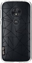 Casetastic Softcover Motorola Moto G7 Play - Abstraction Outline Black Transparent