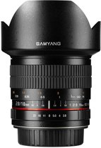 Samyang 10mm F2.8 Ed As Ncs Cs - Prime lens - geschikt voor Fujifilm X