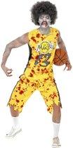 Zombie basketbal speler kostuum voor heren  - Verkleedkleding - Medium
