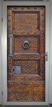 Deurposter 'Deur 2' - deursticker 75x195 cm - RECHTS
