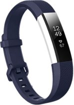 SVH Company Siliconen bandje - Fitbit Alta (HR) - Donkerblauw - Small