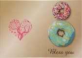 Diamond Paint Kaart Donuts