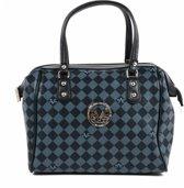 V 1969 Italia - V 1969 Italia Womens Handbag Blue KANSAS - Vrouwen - ONE SIZE