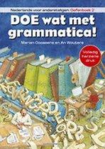 Boek cover Doe wat met grammatica! Oefenboek 2 van Marian Goossens