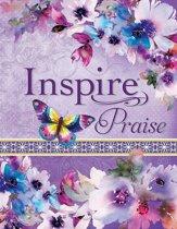NLT inspire praise Bible Purple Garden