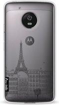 Casetastic Softcover Motorola Moto G5 - Paris City Houses