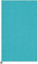 Kleine Wolke - Badmat Kansas turquoise 60x 90 cm