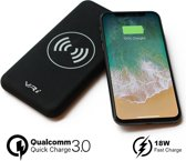 VR-i Draadloze Lader X3 | Qi Wireless Charger 10.000 mAh Powerbank, Qualcomm 3.0 Fast Charge voor o.a. iPhone XR/XS/XS Max/X/8/8 Plus/iPad/Samsung Galaxy S9/S8/S7/S6.
