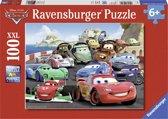 Ravensburger puzzel Disney Cars. Explosieve race - Legpuzzel - 100 stukjes