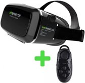 VR BOX 2.0 + controller,  virtual reality bril voor smartphone. IOS/ANDROID/Windows  merk by vr-direct
