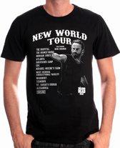Merchandising THE WALKING DEAD - T-Shirt New World Tour (S)