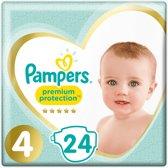 Pampers Premium Protection Luiers - Maat 4 - 9-14 kg - 24 Stuks