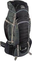 Highlander Backpack - Unisex - zwart/grijs