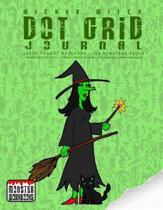 Wicked Witch - Dot Grid Journal - Large Notebook - 110 Pages