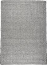 Effen - tapijt of vloerkleed - Caitlyn bruin - beige 235x165cm