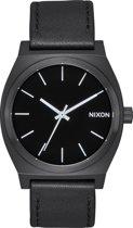 Nixon A045756 Time Teller all black / white - Horloge - 37mm - Zwart
