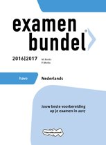 Examenbundel havo Nederlands 2016/2017