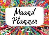 Maandplanner Puk Art.