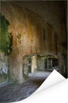 Prachtige gangen in het Citadelle Laferrière Poster 60x90 cm - Foto print op Poster (wanddecoratie woonkamer / slaapkamer)