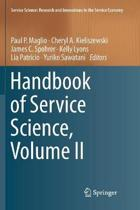 Handbook of Service Science, Volume II
