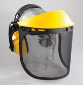 Westfalia Hoofdbescherming set: gehoorbescherming en gezichtbescherming