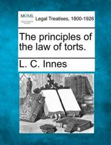 The Principles of the Law of Torts.