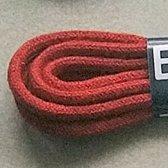 75cm lange signaal rode schoenveters Rond - 2.5 mm dik - Bergal 8820