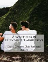 Adventures in Friendship