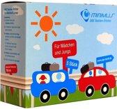 Minimus - Plaszakken voor kinderen - Voor als er geen hygienisch toilet in de buurt is - geschikt voor jongens én meisjes - 5PACK