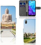 Huawei Y5 (2019) Flip Cover Boeddha