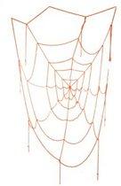 Spinnenweb oranje 160 cm