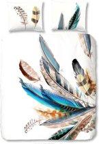 Good Morning 5452-P Feather- dekbedovertrek - tweepersoons - 240x200/220 cm  - katoen - multi