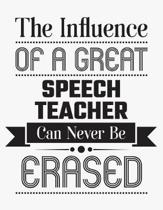 The Influence of a Great Speech Teacher Can Never Be Erased