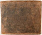 Lundholm Heren portemonnee heren leer bruin - Vintage
