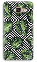 Samsung Galaxy A5 (2017) Volledig Geprint Hoesje (Hard) - Geometrische jungle