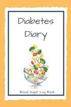Diabetes Diary Blood Sugar Log Book