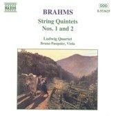 Brahms: String Quintets 1 & 2 / Ludwig Quartet, Pasquier
