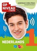 Op Niveau 1 Nederlands vmbo-t/havo Leeropdrachtenboek