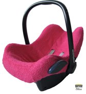 Bliss - Maxi-Cosi Hoes voor Cabriofix Pebble Citi - Badstof Donkerroze