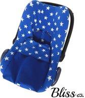 Baby Deken Kobaltblauw sterren - 75x90cm
