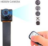 TKSTAR Mini 12MP 1080P Verborgen Video Camera Pinhole Met Afstandsbediening P2P IP Spycam