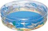 Bestway Zwembad 3 Rings Sea Life - 150 x 53 cm