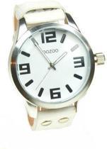 OOZOO Timepieces C4055 - Polshorloge - Wit - 46 mm