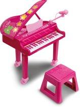 iGirl Electronische Piano met Microfoon, Stoel en Licht