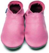 Inch Blue babyslofjes plain roze pink maat M (12 cm)