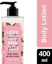 Love Beauty and Planet Body Lotion Delicous Glow - 400 ml - Muru Muru Butter & Rose