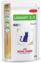 Royal Canin Urinary S/O - Rundvlees - Kattenvoer - 12 x 100 g