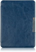Shop4 - Kobo Touch Hoes - Book Cover Cabello Donker Blauw