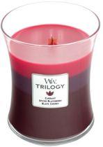 WoodWick® Trilogy geurkaars Medium Sun Ripened Berries