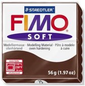 Fimo Soft choco 57 GR 8020-75